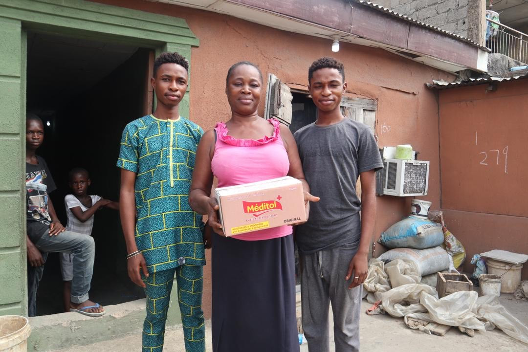 Covid-19: Meditol moves to support Lagos residents with essential items, promotes good personal hygiene