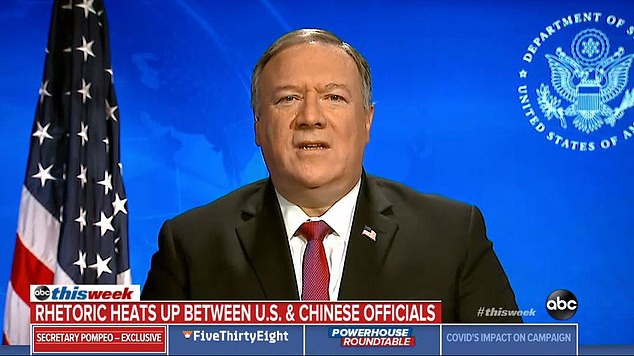 US Secretary of State, Mike Pompeo says there is