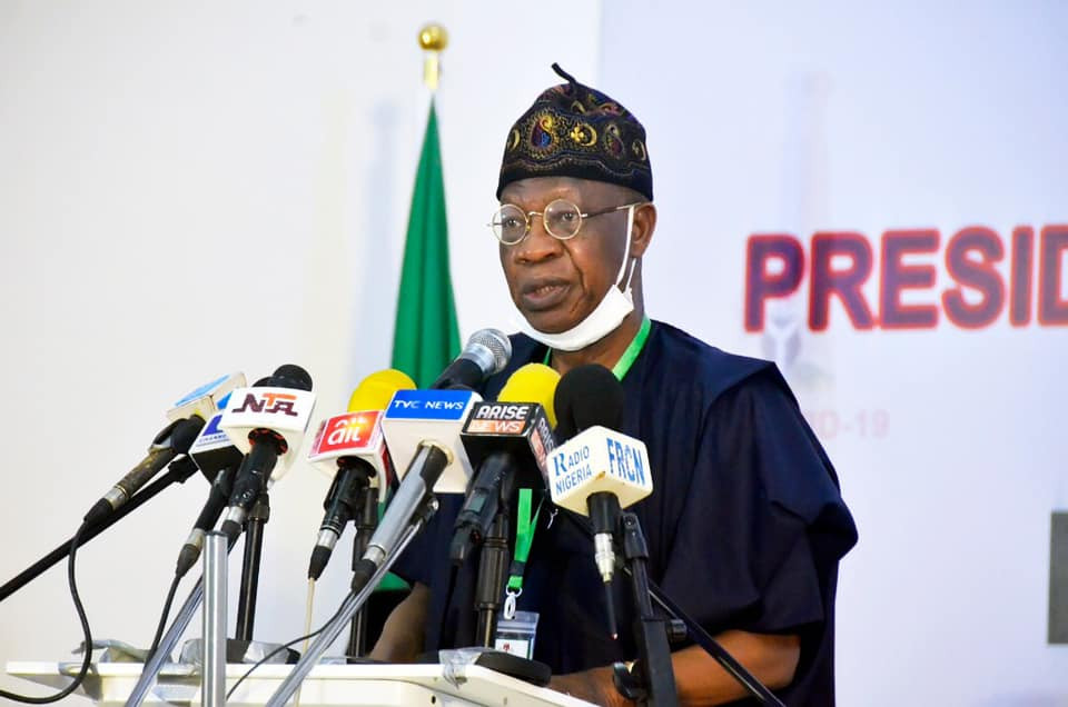 Chinese doctors have began working at our isolation centres - Lai Mohammed