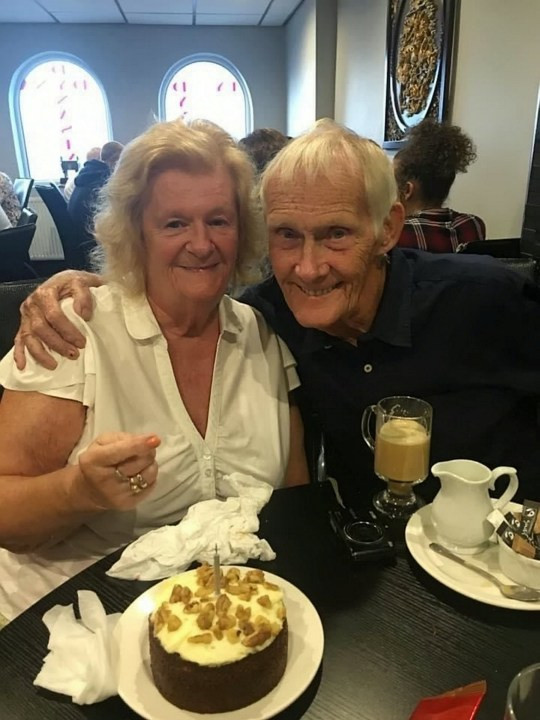 Couple who met as accidental pen pals celebrate 60th wedding anniversary (photos)