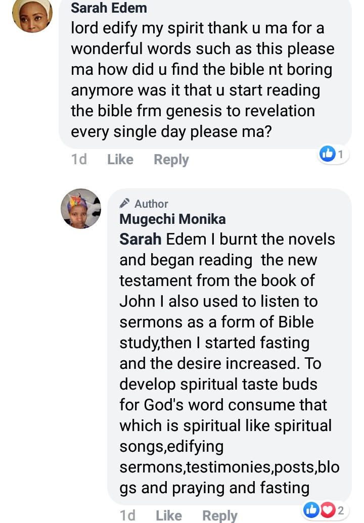 """The inspiration to write erotic novels comes from the devil"" Repentant Christian narrates how she burnt all her novels when she became born again"