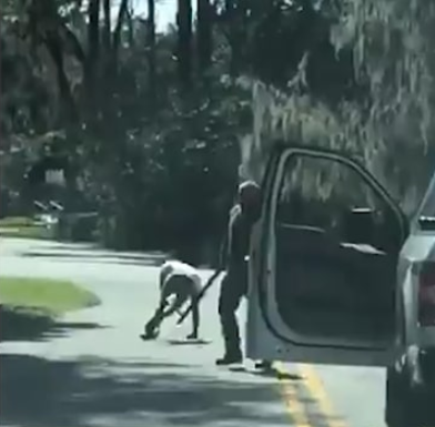 Video emerges of the fatal shooting of unarmed black man, Ahmaud Arbery, by a White man in Georgia