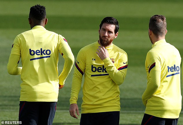 ?Lionel Messi among Barcelona players set to undergo tests for Coronavirus today
