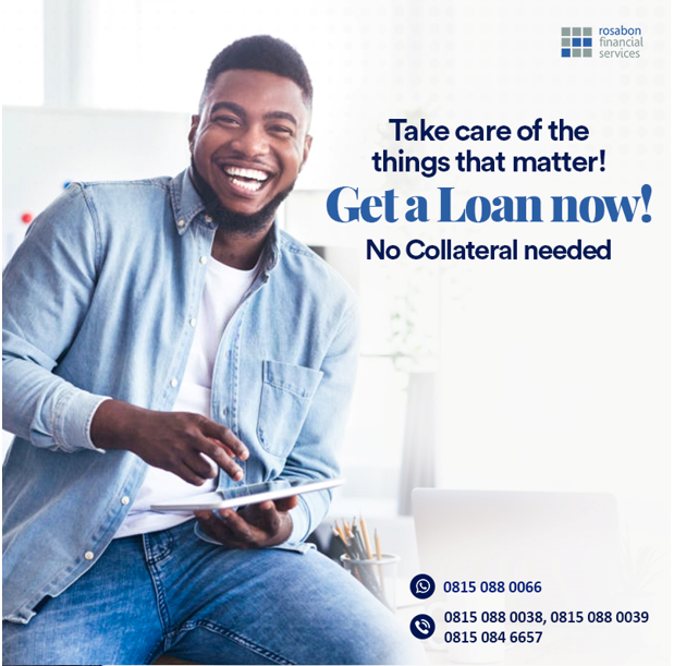COVID-19: Rosabon Targets Workers with N6M Personal Loan at Low Interest Rate