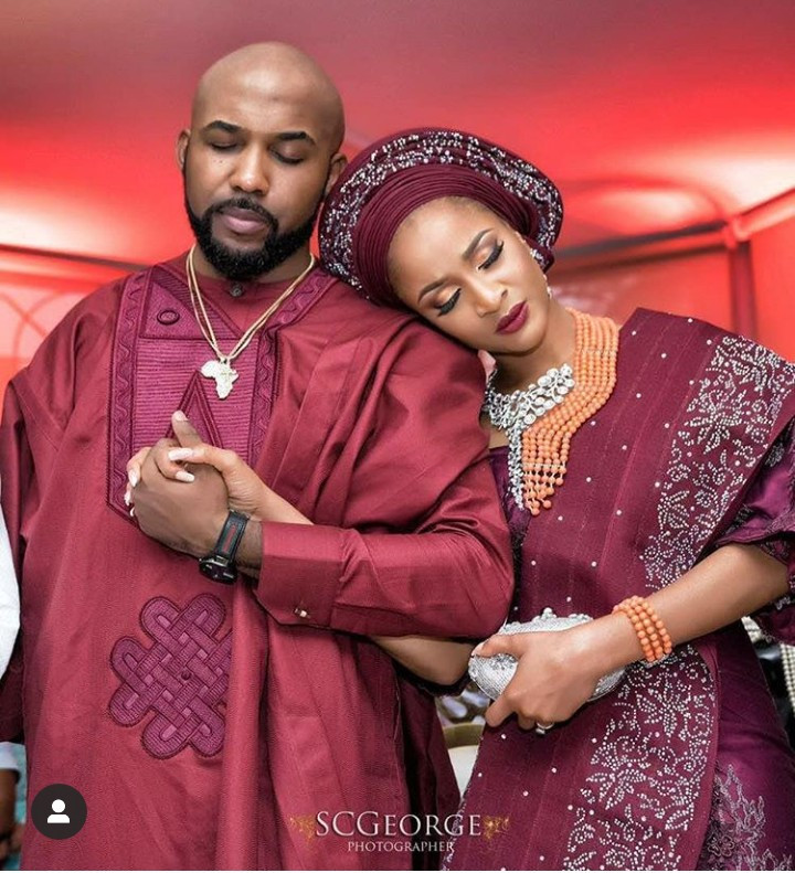 """Thank you for building with me"" Banky W celebrates wife Adesua on the third anniversary of their introduction"