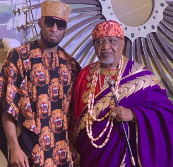 Dilly Umenyiora loses his father, Igwe John Umenyiora of Ogbunike kingdom