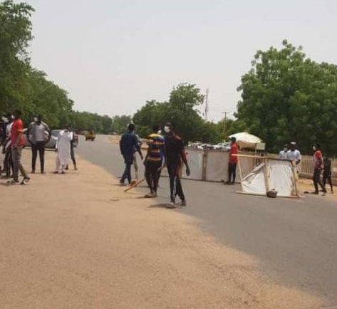 Again COVID19 patients stage protest in Gombe