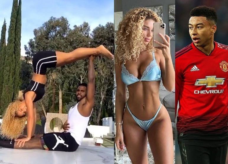 Jason Derulo reportedly dating Man.United player Jesse Lingard