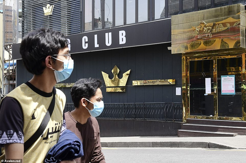 South Korea shuts down 2,100 nightclubs and bars as new Coronavirus spike is blamed on clubbers who went out after lockdown eased