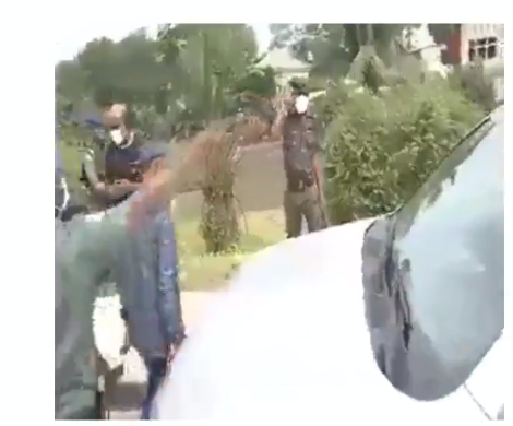 Governor Wike orders security operatives to take man who had mobile policemen in his car to Isolation Center for violating lockdown order (video)