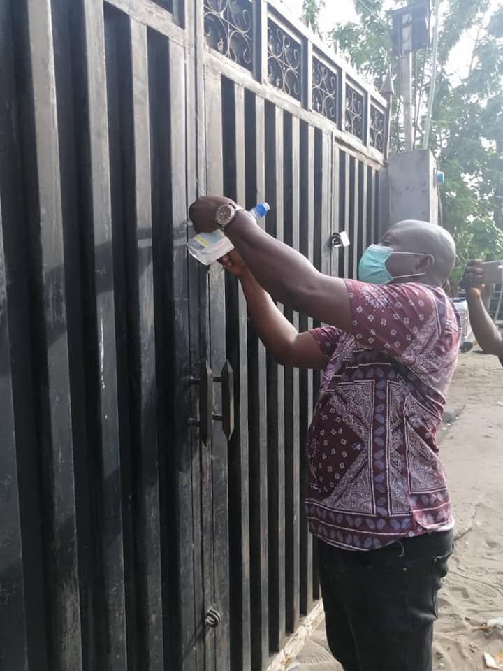Lagos state government seals Hotel, Night club for violating COVID-19 regulations (photos)