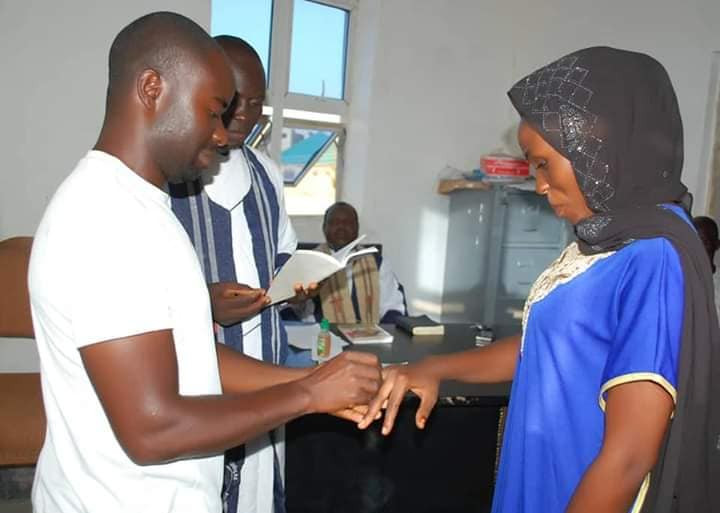 Couple wed in casual outfits in Gombe (photos)