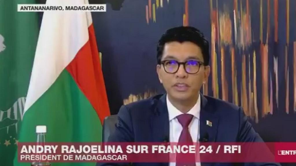 Madagascar President, Andry Rajoelina Speaks about Madagascar-Made COVID-19 Cure; Hits Back At Critics