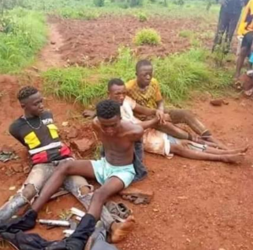 Four suspected cultists with guns arrested in Enugu