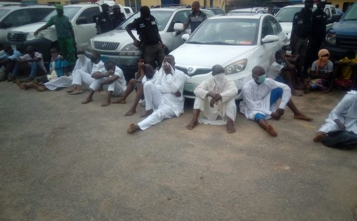 Pastor, Imam and 27 others arrested for violating lockdown order in Lagos