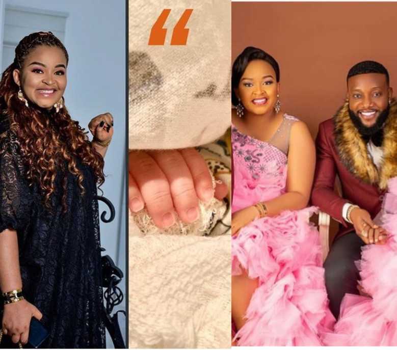 Kcee Welcomes Newborn Baby With His Wife On Her Birthday