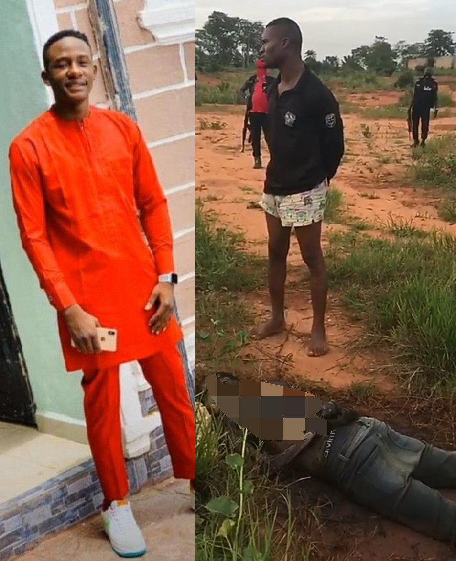 Ex-soldier narrates how he and other uniformed men kidnapped and murdered a 21-year-old man in Imo (graphic video)