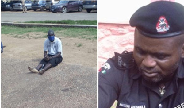 I do not regret my action - Rearrested dismissed policeman explains why he won