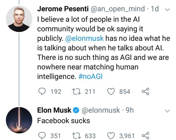 """Facebook sucks"" Elon Musk slams Facebook"