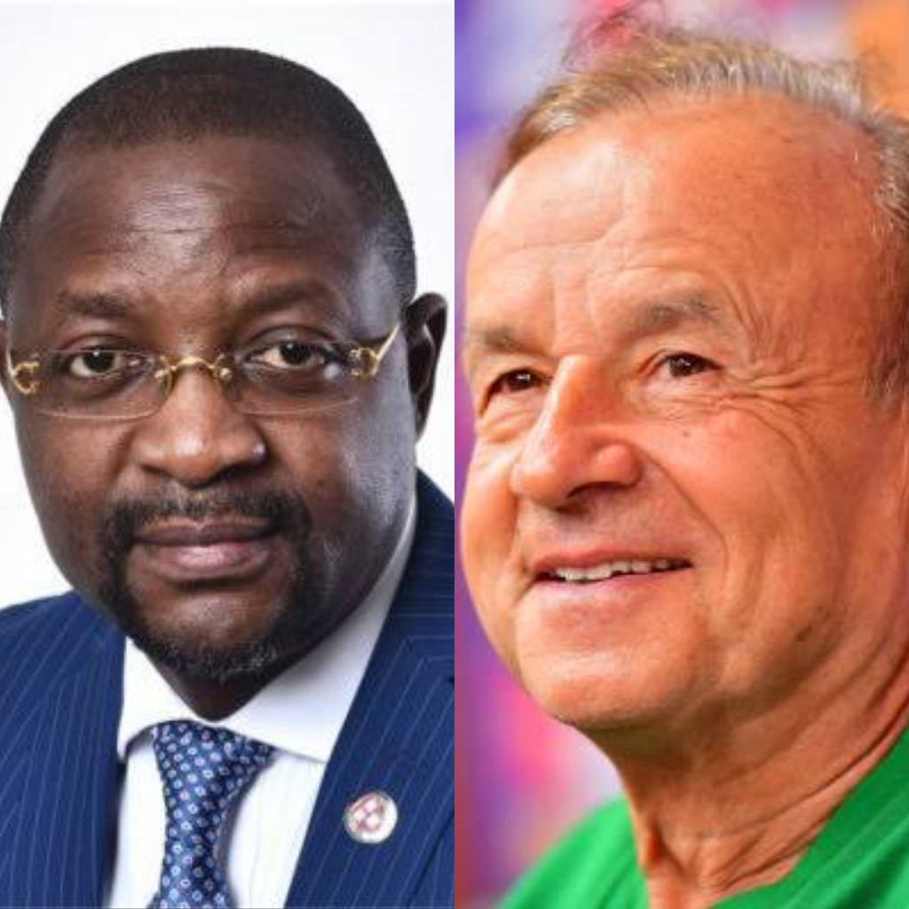 ?I don?t care whether it is Rohr or not we need a competent coach? ? Sport Minister Sunday Dare