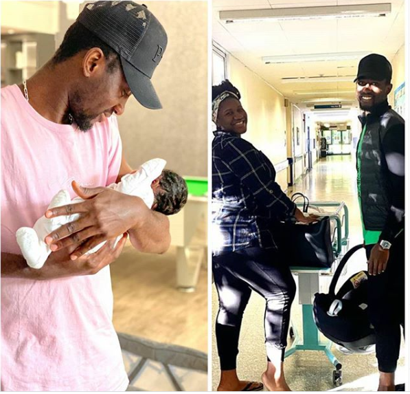 Super Eagles midfielder, Wilfred?Ndidi and wife Dinma welcome their first child together, a girl (photos)