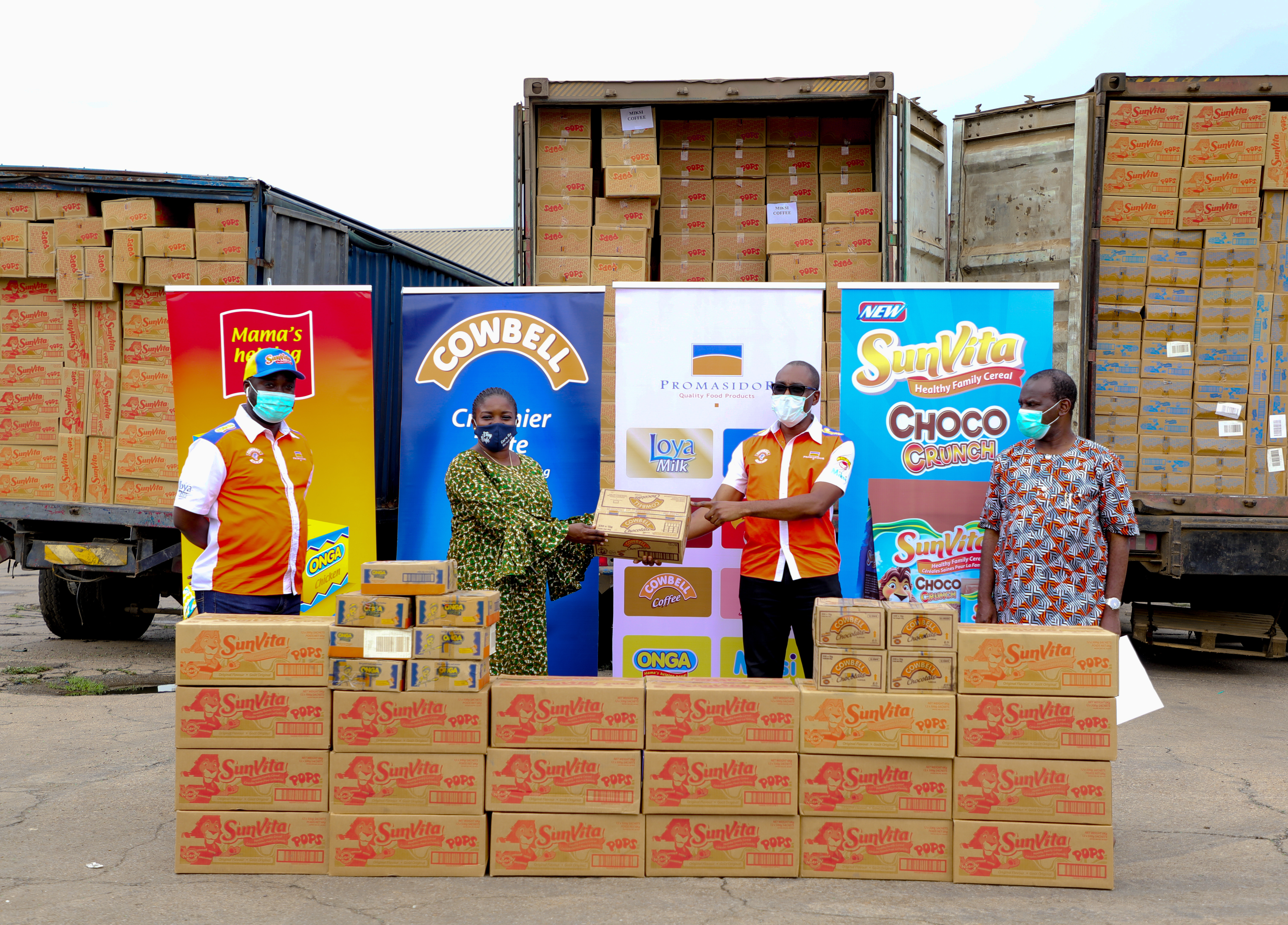 Promasidor Nigeria contributes over N280 million in Cash and Food Products towards COVID-19 fight