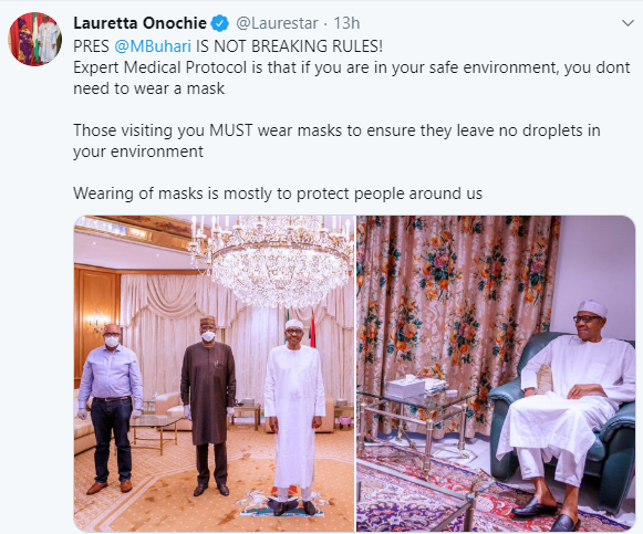 Presidential aide, Lauretta Onochie, explains why President Buhari doesn