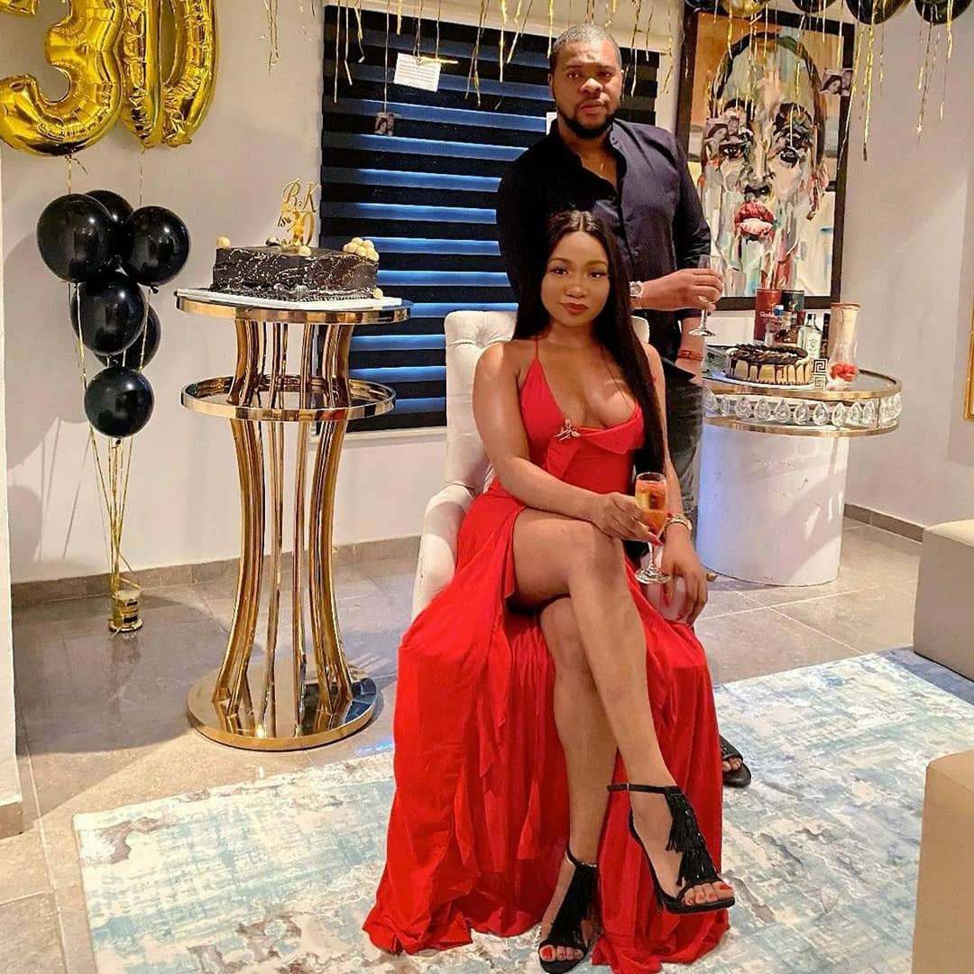 Singer, Mocheddah celebrates her hubby, Bukunyi Olateru-Olagbegi, as he turns 30 (photos)