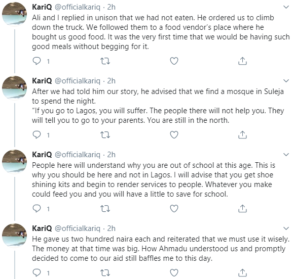 Former almajiri narrates what life was like as one and how he was saved by an Igbo man