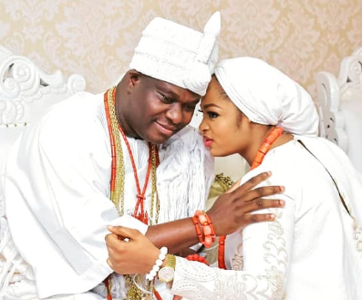 Ooni of Ife's wife, Olori Prophetess Naomi reacts to rumors that their marriage has crashed