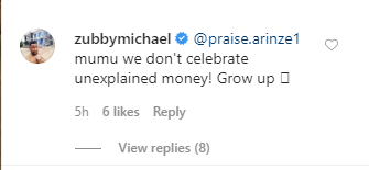 We don?t celebrate unexplained money - Actor Zubby Michael takes shot at Hushpuppi after being compared with him