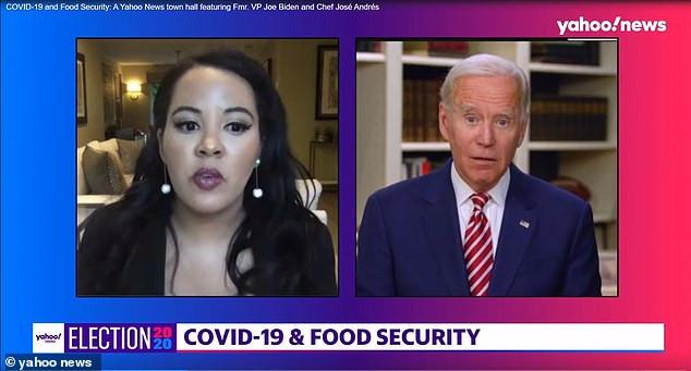 Joe Biden calls Trump