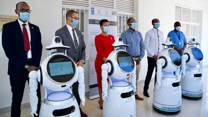 Rwanda takes delivery of robots that can screen ?150 people per minute? for Coronavirus (photos)
