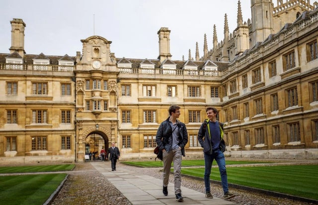 Cambridge University becomes first university in the world to axe all face-to-face lectures till 2021