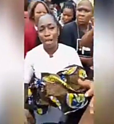 Nurse accused of stealing baby after she was caught with a newborn outside the hospital premises (video)