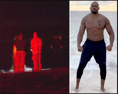 Body of former WWE star Shad Gaspard washes up on Venice Beach three days after he was swept out to sea? (Photos)