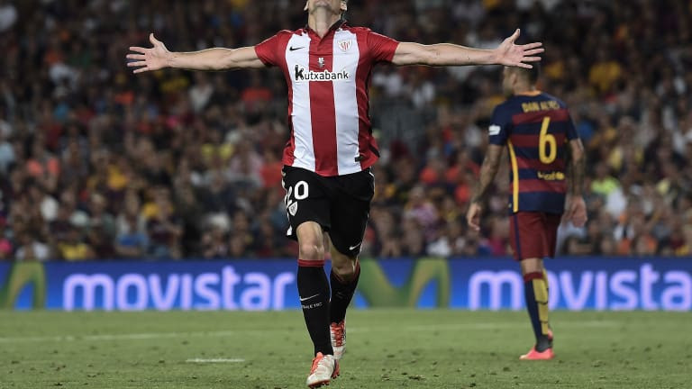 Athletic Bilbao striker, Aritz Aduriz announces his retirement from football at 39 due to a hip injury