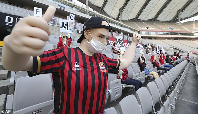 Update: South Korean club FC Seoul slapped with record ?67,000 fine for filling empty stands with sex dolls in place of fans
