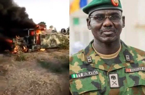 Defence Headquarters confirms death of two Nigerian soldiers and 3 Boko Haram members in ambush