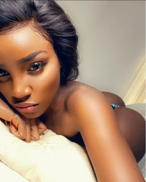 Seyi Shay leaves little to the imagination as she posts series of sexy bedroom photos