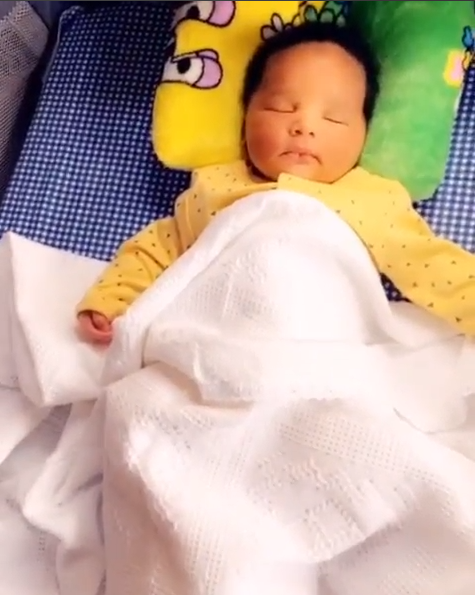 Kcee shows off his newborn son (photos)