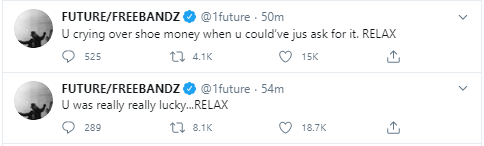 Future sued by his