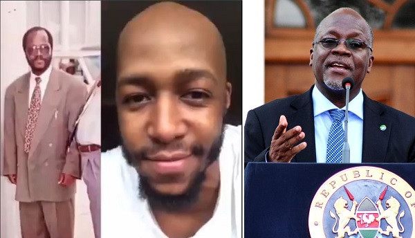 Big Brother Africa winner, Idris Sultan arrested for laughing at throwback photo of  Tanzanian President, Magufuli