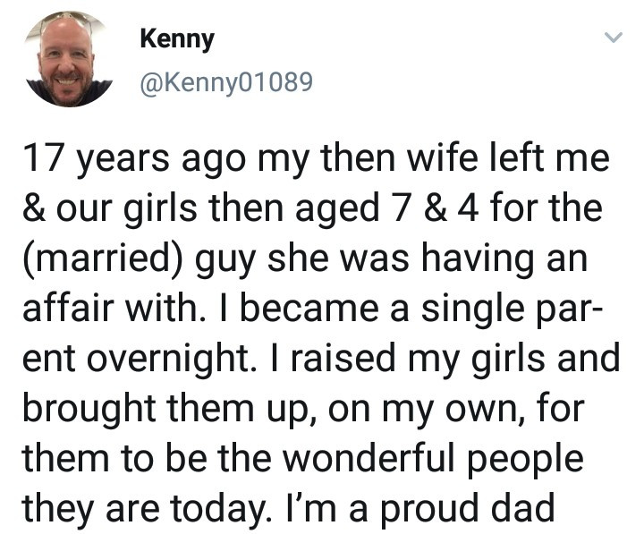 Proud single dad shows off the daughters he raised by himself after his