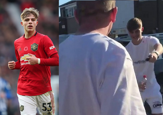 Manchester United defender, Brandon Williams, 19, surprises his dad with new ?40,000 Mercedes on his birthday (video)