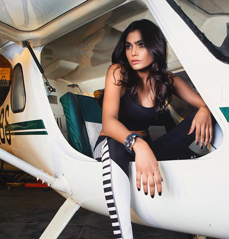 Pakistani supermodel Zara Abid was aboard the PIA flight that crashed in Karachi