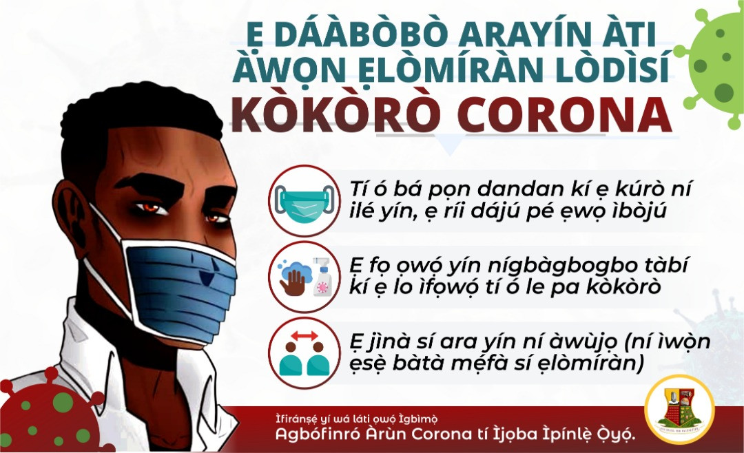 9 Coronavirus patients discharged in Oyo state