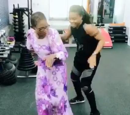 Dance queen, Kaffy, loses mum at 82