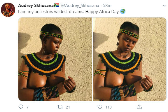 "South Africans celebrate ""Africa Day"" by going naked"