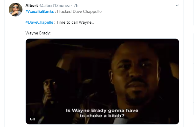 Azealia Banks claims she slept with Dave Chappelle (video)